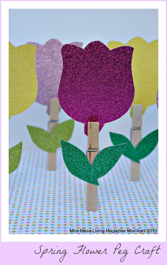 Spring flower crafts for kids spring mightylinksfo