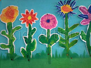 Spring flower crafts for kids spring poppies from all done monkey mightylinksfo Choice Image