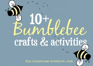 bumblebee crafts and activities for kids