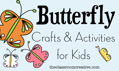 Butterfly Crafts u0026 Activities for Kids