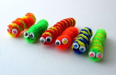 Recycled Easter Egg Caterpillar From Preschool Crafts For Kids
