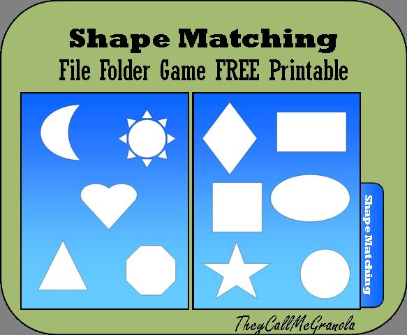 preschool - Halloween File Folder Games