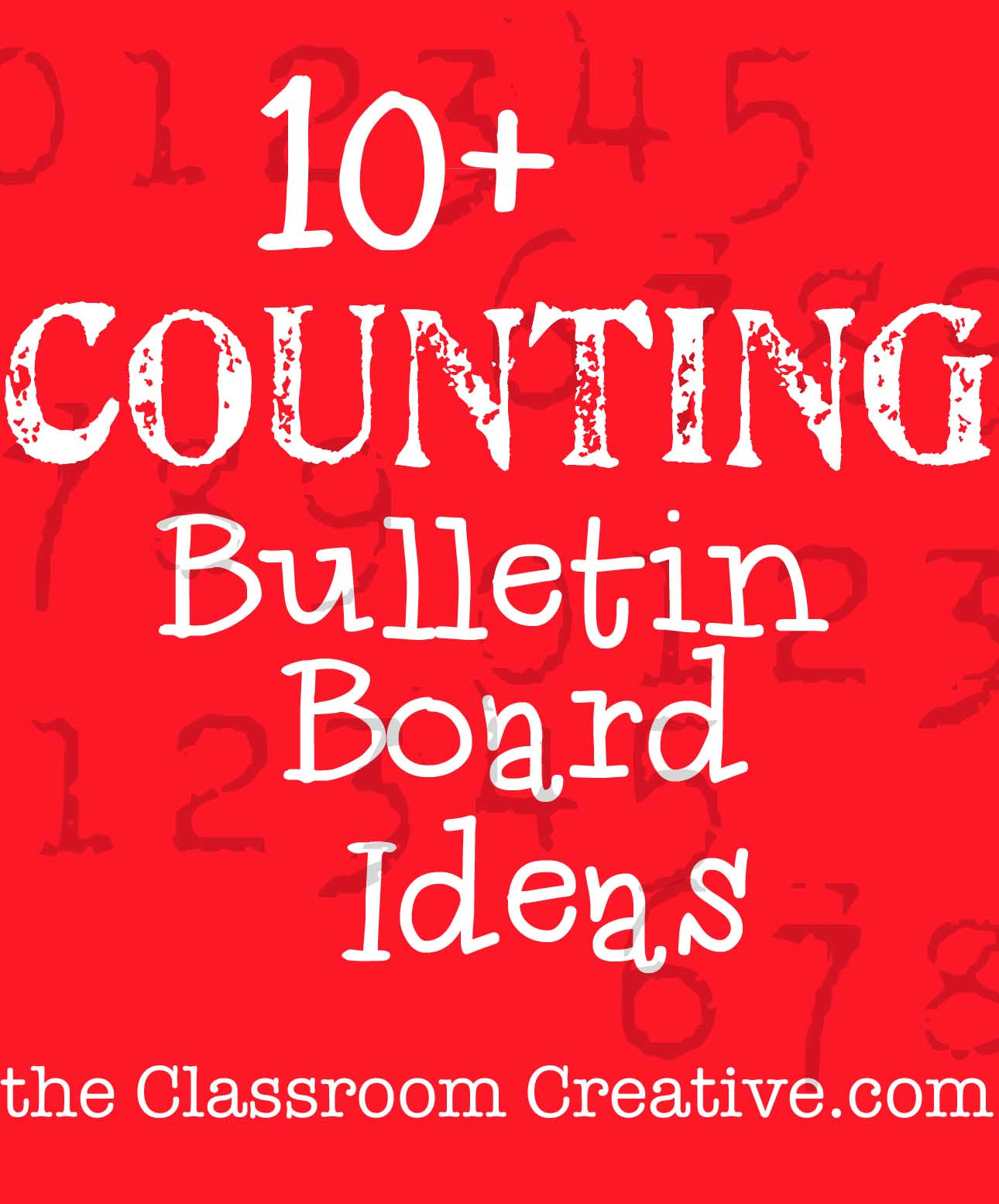 you can count on me, said the bulletin board! Check out these ...