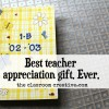 teacher appreciation gift idea class memory book