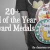 end of the year award medals printable