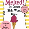 ice cream sight word game from theclassroomcreative.com