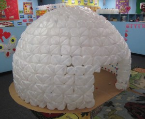 Summer reading nooks for kids for How to build an igloo out of milk jugs