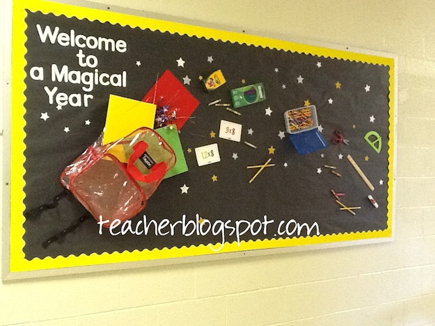 Back to school bulletin board ideas for Back to school board decoration