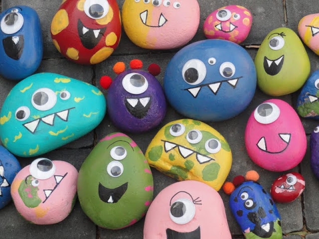 Bottle Cap Monsters From Crafts By Amanda