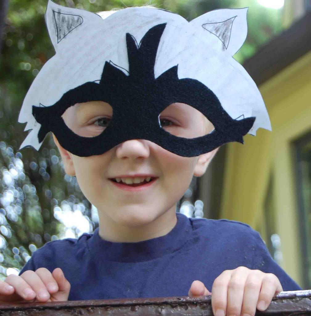 Free Printable Fall Raccoon Mask Raccoon Eye Mask