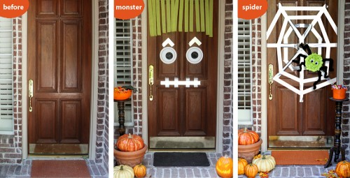 Easy Halloween Classroom Decorations ~ Halloween classroom door decorations