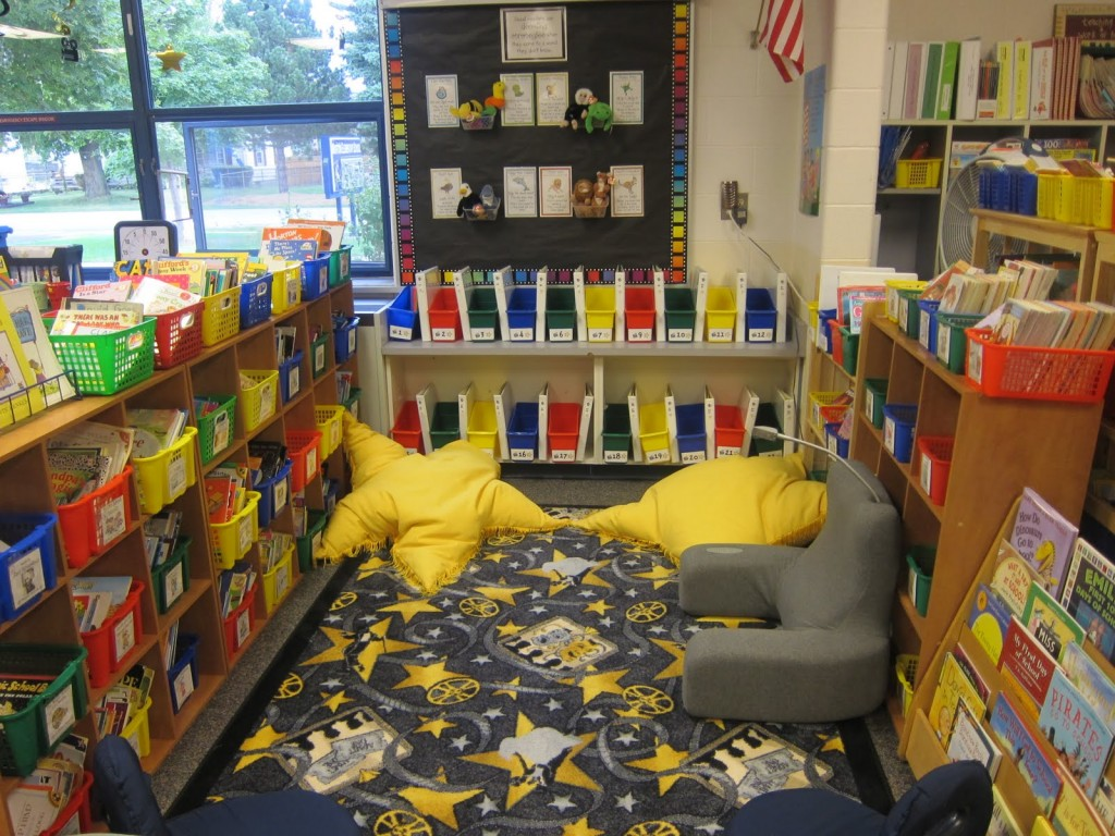 Classroom Theme Ideas For Reading ~ Classroom reading nook ideas