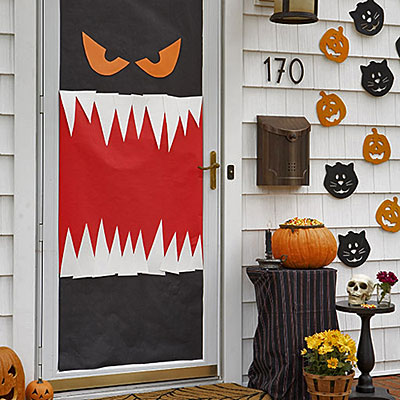 Halloween classroom door decorations - Decoration de porte halloween ...