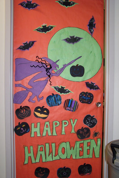 Halloween Classroom Door Decorations ~ Halloween classroom door decorations