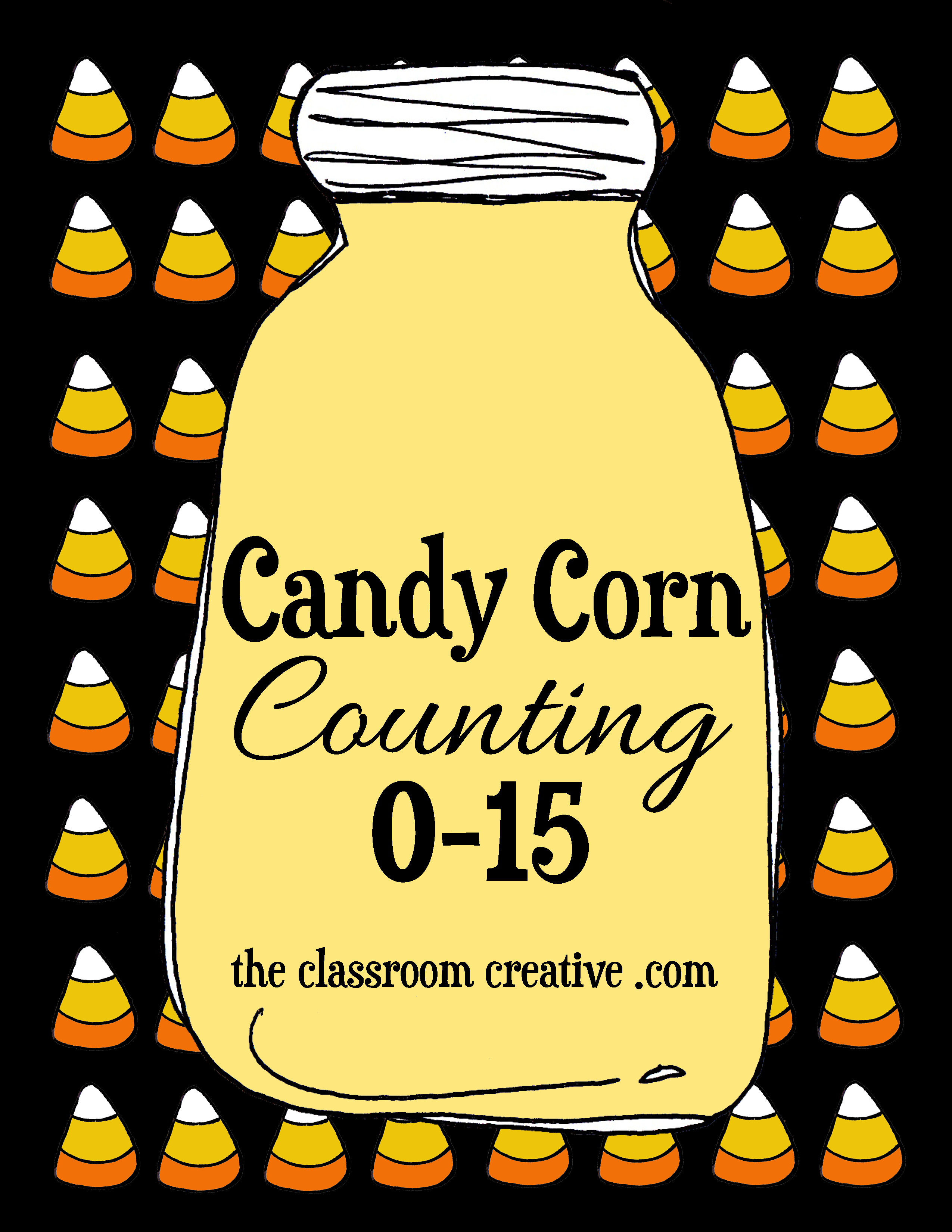 Free Printable Candy Corn Counting Center 015 – Candy Corn Math Worksheets