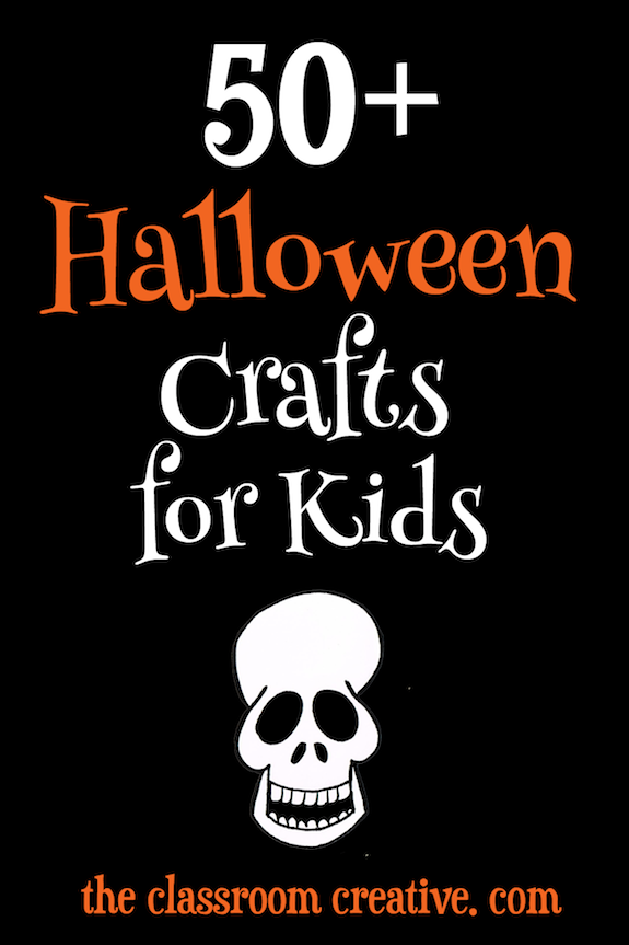 50+ Halloween Craft Ideas for Kids