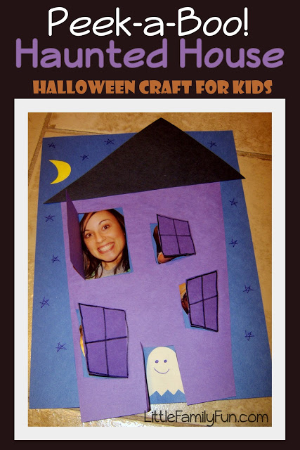 Haunted halloween crafts for kids