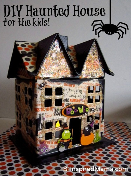 Haunted house crafts for kids for Build a haunted house