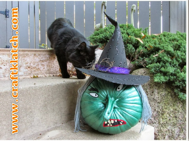 how to make a crashing witch
