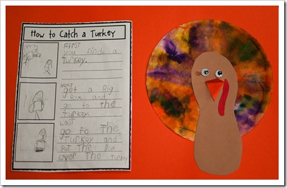 November and thanksgiving bulletin boards for Turkey crafts for first grade