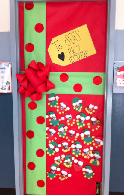 Classroom Ideas For Christmas ~ Christmas door decorations