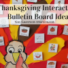 thanksgiving bulletin board idea