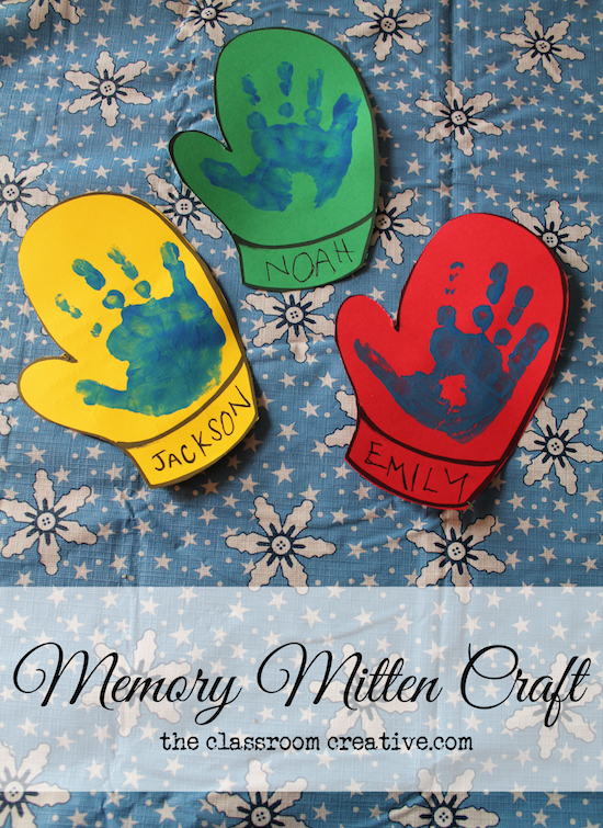 Winter Craft Ideas For Kids Part - 45: Mitten ...