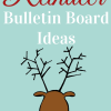 Reindeer Bulletin Board Ideas