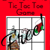 christmas tic tac toe game