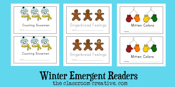 Christmas Literacy Centers & Activities for Kindergarten