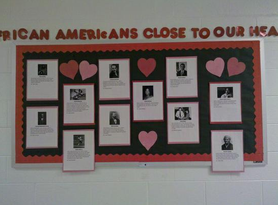 Black history month bulletin board ideas for Black bulletin board ideas