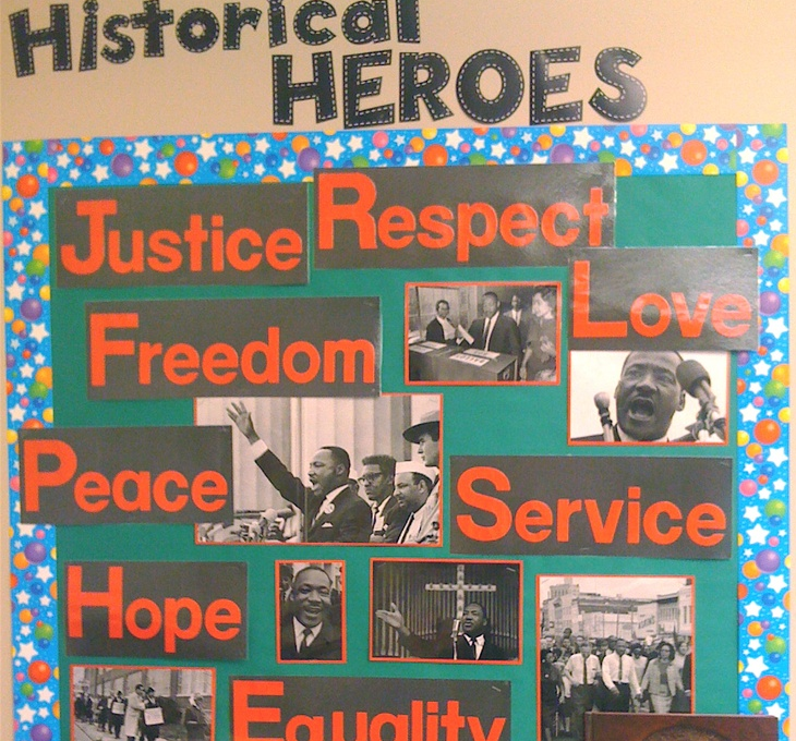 Black History Classroom Decorations ~ Black history month bulletin board ideas