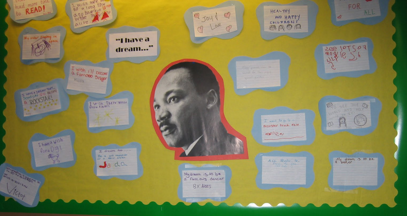 Ideas Bulletin Boards Martin Luther King Display