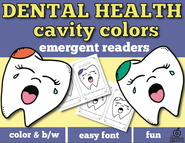 Free Printable Dental Health Month Activity For Kids