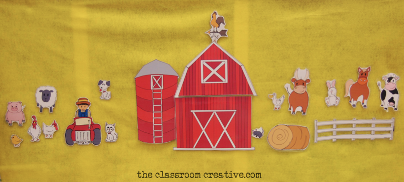 Pretend Play Farm Animal Printables