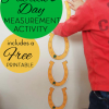 St Patrick's Day Measurement Activity: How Many Lucky Horse Shoes Long Am I?