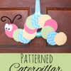 preschool kindergartn math AABB  AAB ABB ABAB ABCD patterns caterpillar craft for kids
