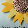 sunflower craft using recycled materials from theclassroomcreative.com
