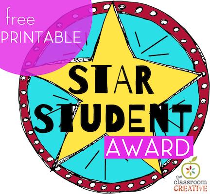 Classroom Behavior Management Idea: Star Student