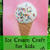 Ice Cream Craft for Kids