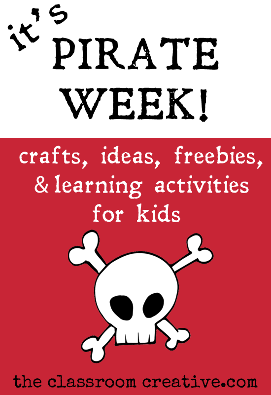 summer fun 101-pirate themed week-crafts, activities, ideas, and free ...