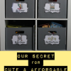 classroom storage secret-DIY, cute, and afforadable! I made 20 boxes for less than $20!