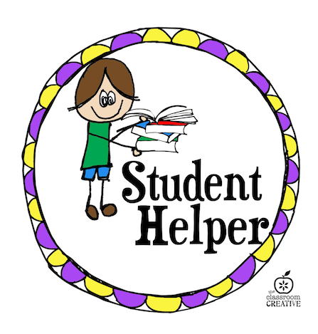 classroom management idea free printable student helper job rh theclassroomcreative com