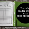 thursday folder system with free printable sign off sheet