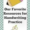 resources for handwriting practice