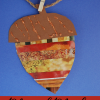 mixed media acorn craft measurement activity for fall