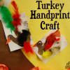 turkey handprint craft for thanksgiving