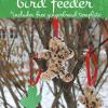 free printable gingerbread bird feeder template