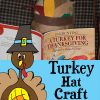 Turkey Hat Craft for Thanksgiving