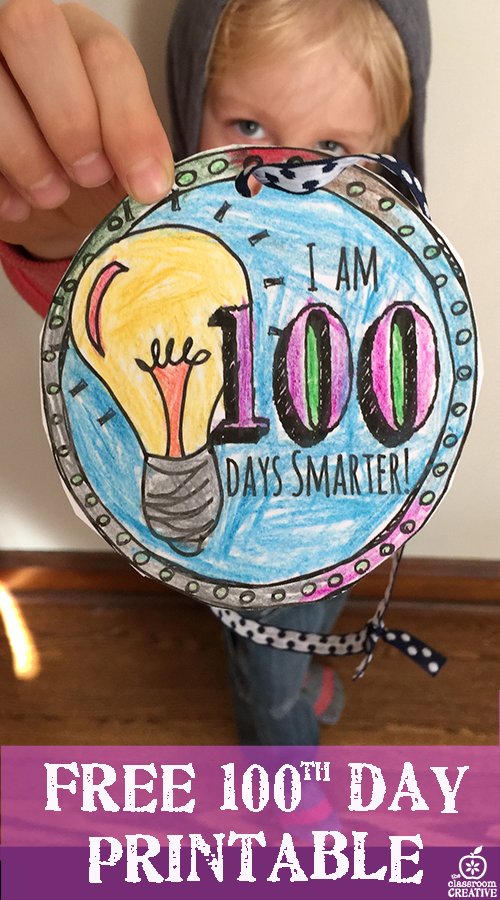 100th Day of School 2015 100th Day of School Activity
